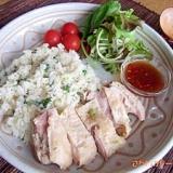 カオマンガイ風★炊き込み鶏飯