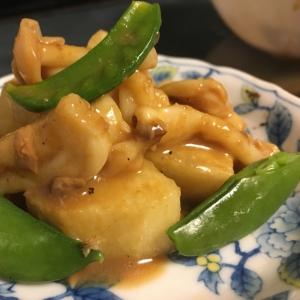 サバの味噌煮缶汁de大根の味噌煮