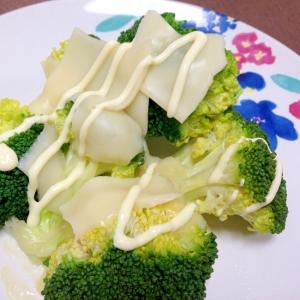 簡単もう一品☆チーズマヨブロッコリー