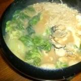体が温まる牡蠣鍋