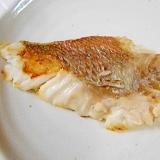 フライパンで ☆ 鯛の塩焼き