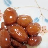 金時豆のメープル煮