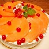 鶴姫メロン☆ケーキ
