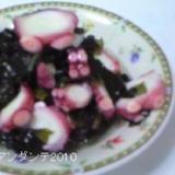 すし酢で作る蛸とわかめの酢の物