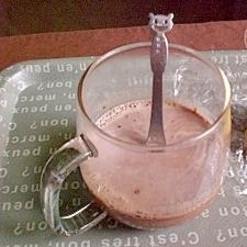 ● 豆乳カフェモカ ●