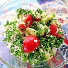 タッブーレ 中東のパセリのサラダ