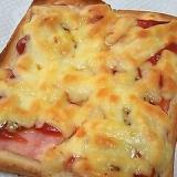 シンプル簡単♪ピザトースト