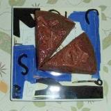 炊飯器でチョコレートケーキ