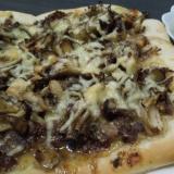 プルコギとまいたけのピザ
