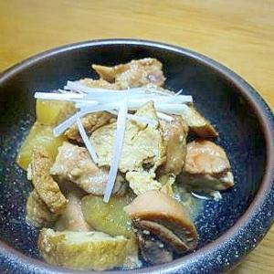 いつもの煮込みにひと工夫♪大根と鶏肉の中華風煮込み