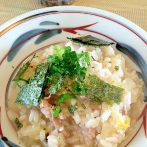 鶏雑炊☆味噌風味