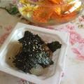 えごま油で☆新玉ねぎと海苔の納豆