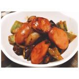 クセになる味☆ウインナーと夏野菜の酢豚風炒め