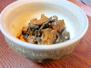 大分特産グルメ「からし椎茸」☆ 昆布入りで自作