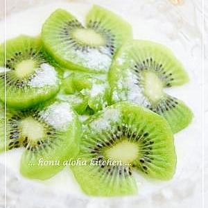 初夏の香り~キウイフルーツヨーグルト♪