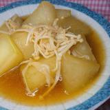 冬瓜とえのき茸のトロッとあんかけ 煮物