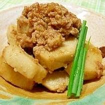 里芋の胡麻味噌煮