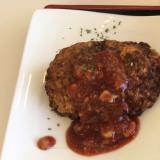 大豆ミートハンバーグ