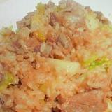 豚肉とキャベツの炒飯