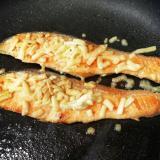 甘鮭のバター醤油チーズ焼き