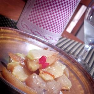 フライパンで簡単、チャーテと蒟蒻のぴり辛炒め