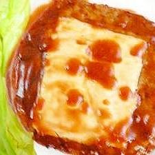 絶品★照り焼きチーズハンバーグ