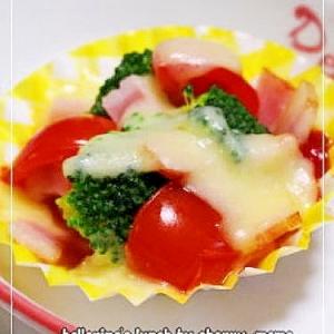 お弁当のおかず★ブロッコリーのチーズ焼き