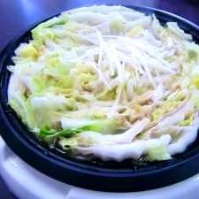 とっても簡単♪白菜と豚肉の蒸し鍋(中華風)