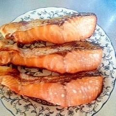 朝から美味しい秋鮭