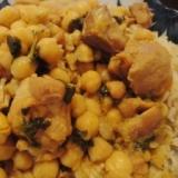 【本場家庭の味】チャナゴーシュト(ひよこ豆と鶏)