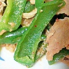 豚モモ肉とピーマンの豆板醤煮