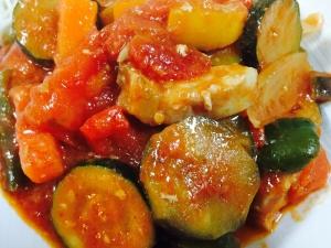 夏野菜で!簡単ラタトゥイユ