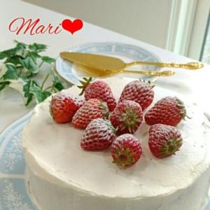 《ひな祭りに♪》みんな大好き☆いちごのケーキ