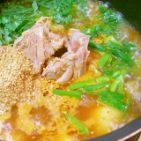 韓国 ホロホロホクホクじゃが芋のお鍋 カムジャタン