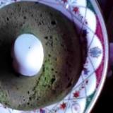 無水鍋で抹茶ケーキ