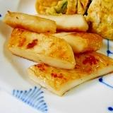 お弁当に ☆ 笹かまの醤油炒め