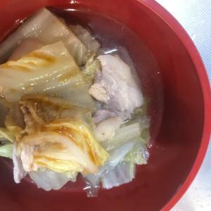 豚と白菜鍋☆
