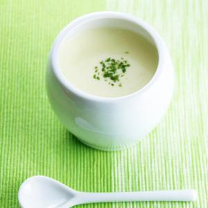 じゃがいもとたまねぎの冷製スープ