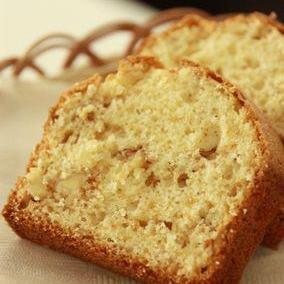 HMで簡単☆くるみのパウンドケーキ