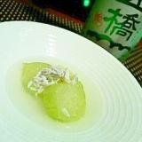 出汁いらずで簡単、りゅうきゅうのしらす翡翠煮