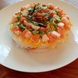 おもてなしやお祝いに!可愛い海鮮寿司ケーキ