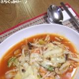 チーズトッポギ風★野菜豆腐