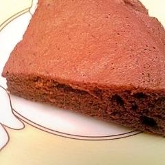 卵白だけのチョコレートケーキ