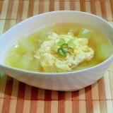 とうがんの簡単スープ
