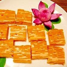 しっとり甘い☆バターナッツ南瓜ミルフィーユ