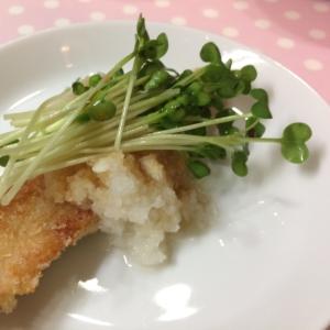 ポン酢でさっぱり★鮭のおろしポン酢