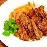 舞茸と豚肉のソテー