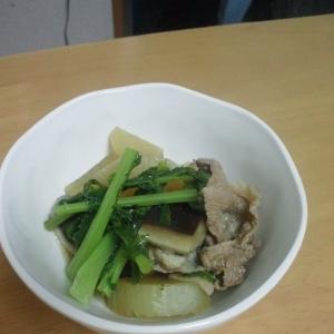 大根と豚肉のあっさり煮