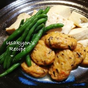 豆腐とすり身揚げの優しい煮物(o^^o)
