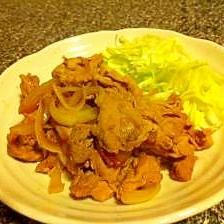 うちの定番!豚の生姜焼き